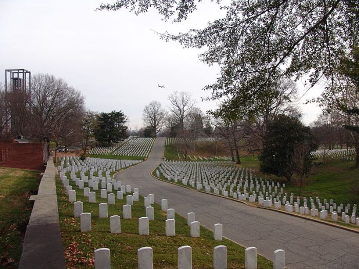 Arlington National Cemetery. Source: Wikipedia