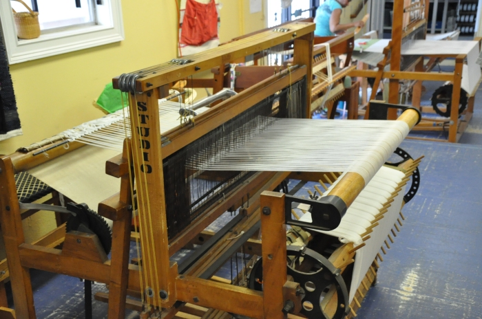 One of the beautiful old looms donated to the re:loom project.
