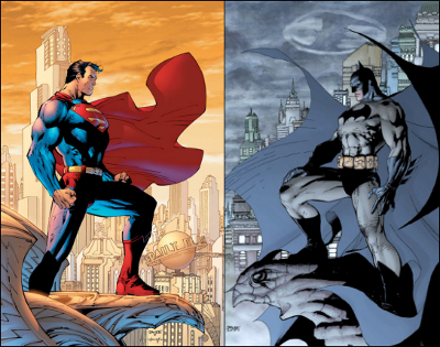 When I was in school, Batman was my first career option and Superman was my backup. I'm totally Batman, by the way.