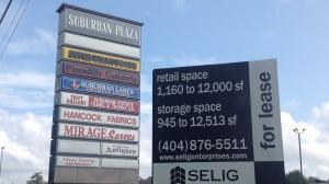 Suburban Plaza, future site of WalMart Supercenter?