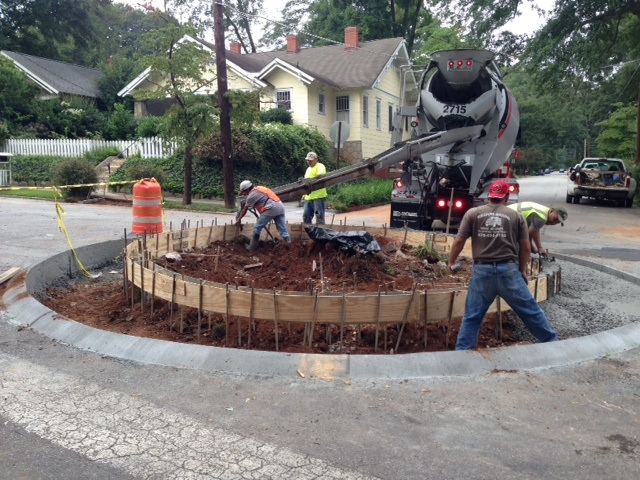 Decatur's First Traffic Circle