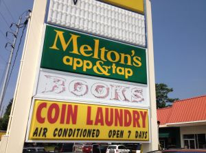 There's no bookstore at Medlock Plaza...