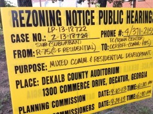Planning Commission Meeting Tuesday night.