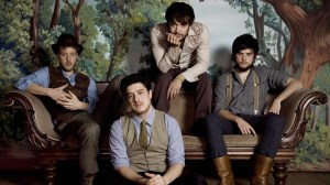 Mumford and Sons played a sold-out show at Centennial Olympic Park Tuesday night.
