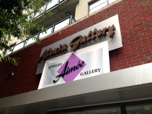 Aimee Jewelry & Gallery opens in the space previously occupied by Alexia Gallery.