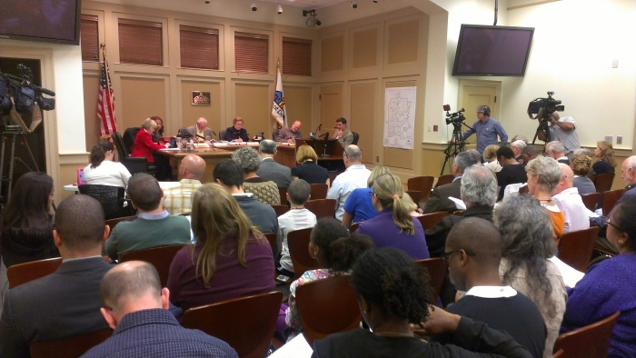 Photo from Oct. 21 Decatur City Commission meeting.