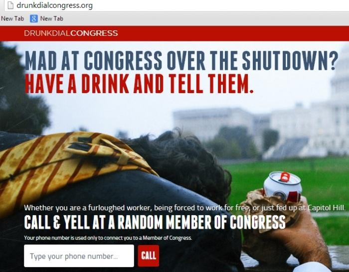 Drunk Dial Congress