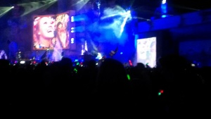 Last night at TomorrowWorld. Way past bedtime.