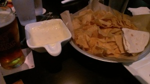 For the record, this is how the Taco Mac queso is supposed to look. (I got this when I visited the recently-renovated Decatur location. Delicious.)