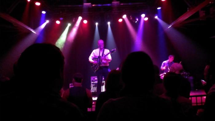 Mike Doughty at King Plow, Nov. 20, 2013, rockin' it.
