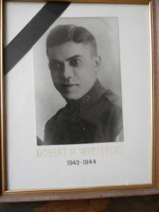 Former American Legion Post 66 Commander R.K. Whiteford.