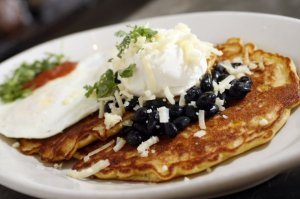 Cilantro Corn Pancakes. Photo: Highland Bakery Facebook page.