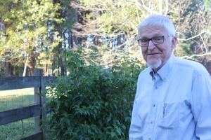 Earl Meeks, 81, at his home in Lilburn, Ga. Photo by: Dan Whisenhunt