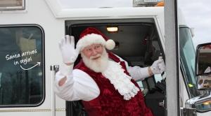 Santa. Source: Decatur Business Association