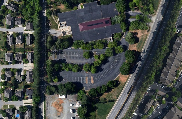 The vacant DeVry property on Arcadia Avenue. Source: Google Maps