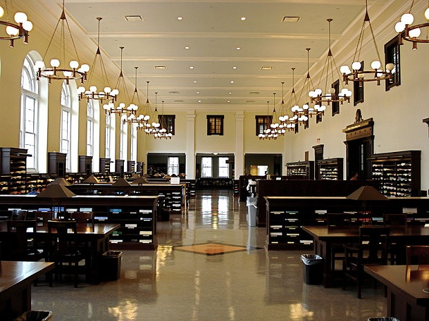 Matheson Reading Room at Emory University. Source: Wikimedia commons