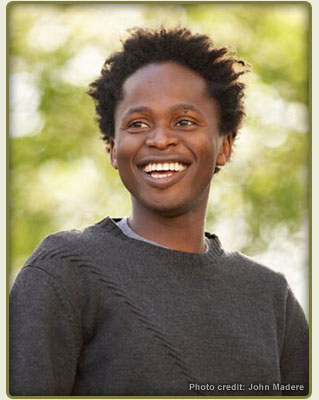 Author Ishmael Beah