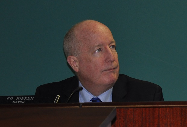Mayor Ed Rieker