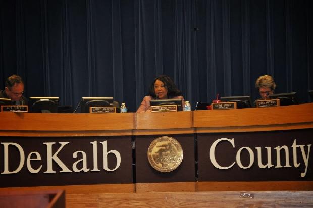 Commissioner Sharon Barnes Sutton.